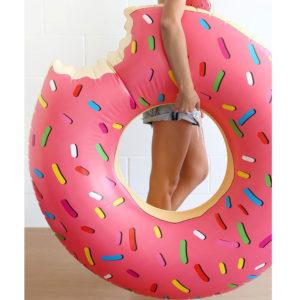 CIAMBELLA-donut-gonfiabile-rosa