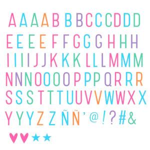 lettere-colorate