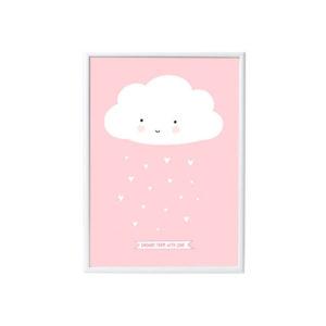 poster-bambini-nuvola-rosa