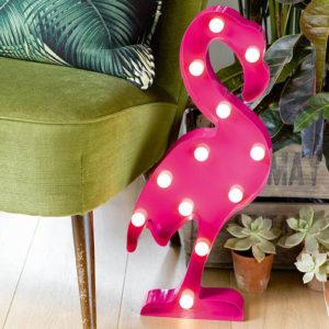 lampada-led-fenicottero-rosa