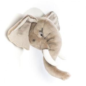 elefante bibib trofeo di caccia peluche