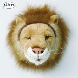 leone bibib trofeo di caccia peluche