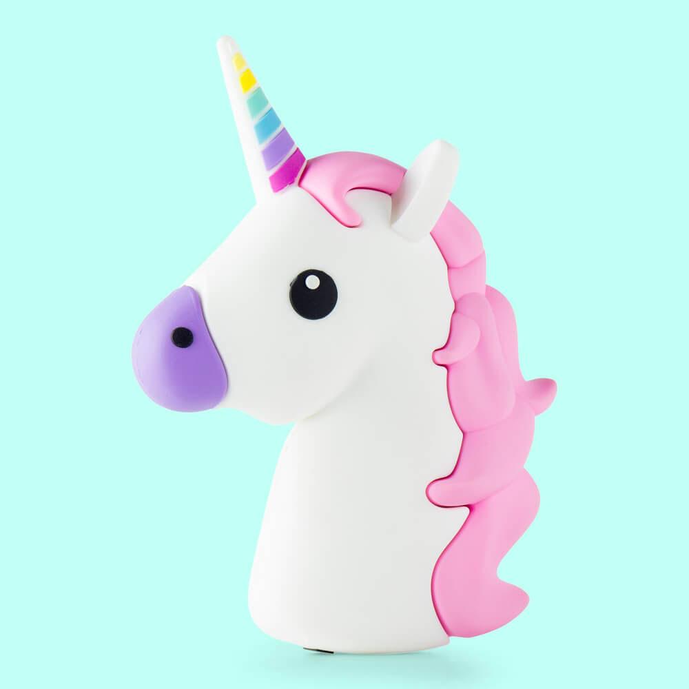 Unicorno power bank caricabatterie tascabile usb moji for Tavolo unicorno
