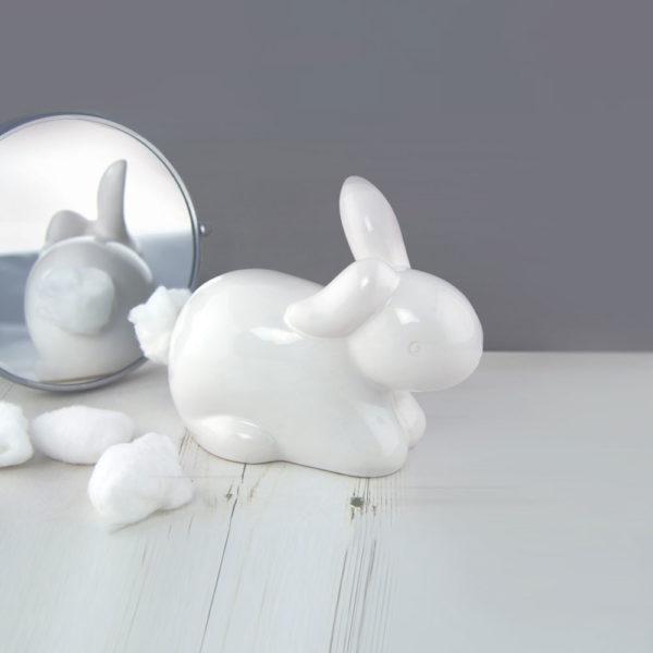 porta dischetti cotone bunny