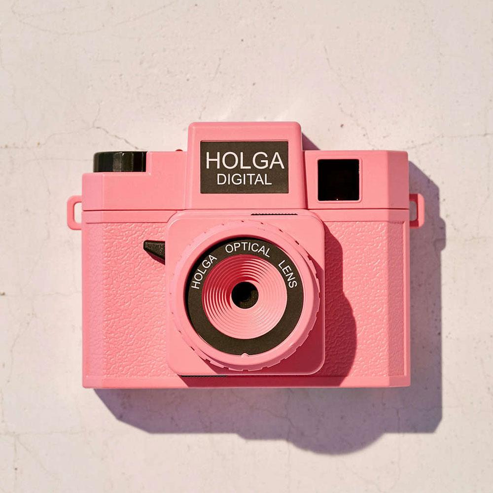 holga digital rosa goolp vintage