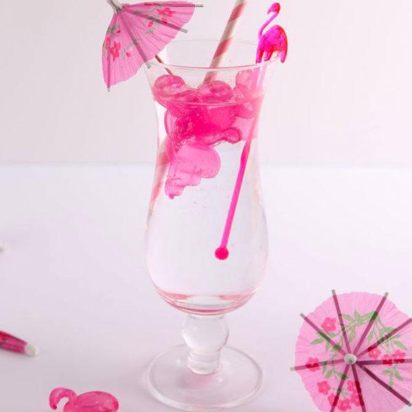 pink flamingo shaker