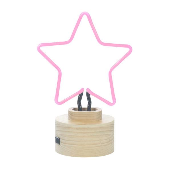 pink-star-neon-light-lampada-rosa-stella-da-tavolo-goolp-gingersnap