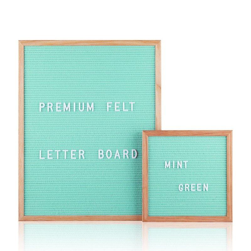 letter board turchese