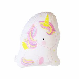 cuscino unicorni rosa