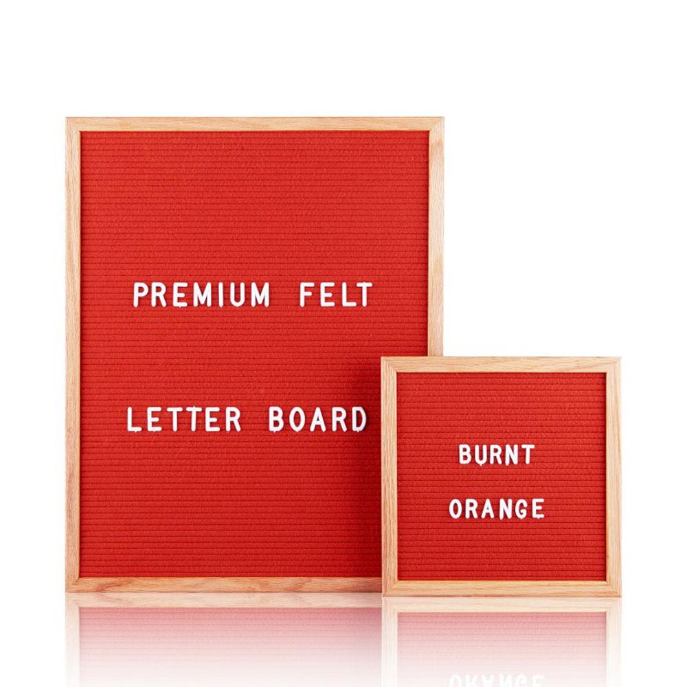 letter board rosso