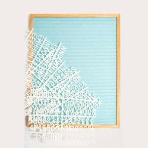 large-letter-board-turchese-tiffany-azzurra-feltro-goolp