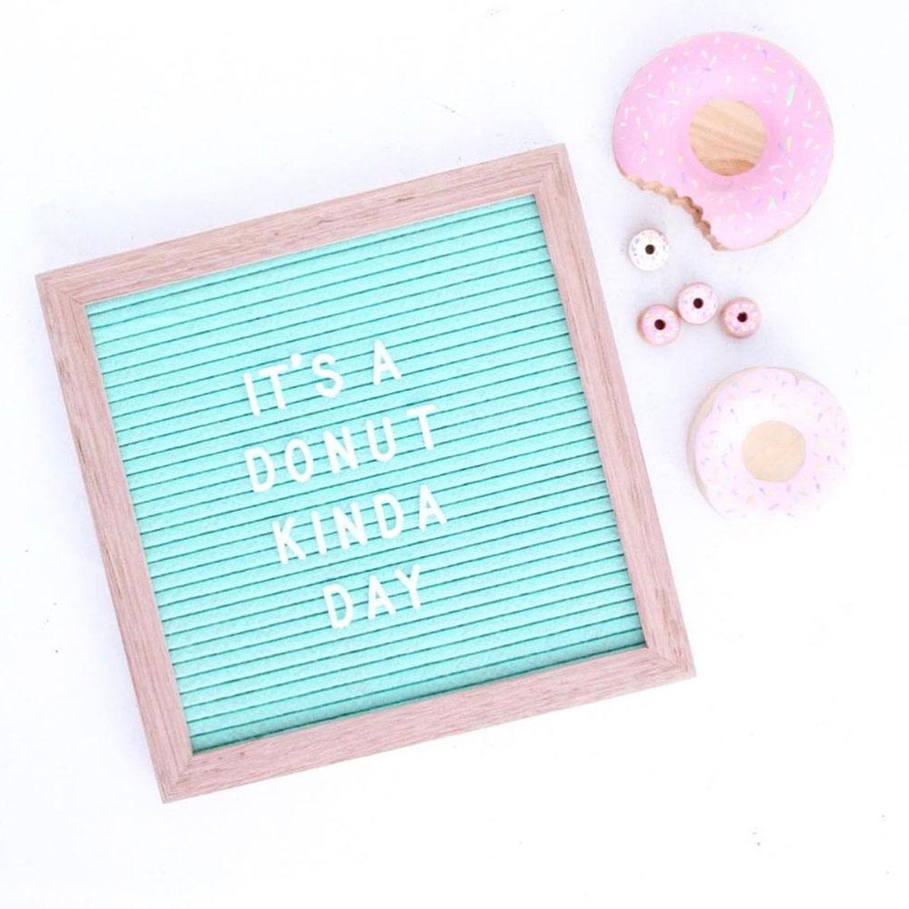 letter board tiffany