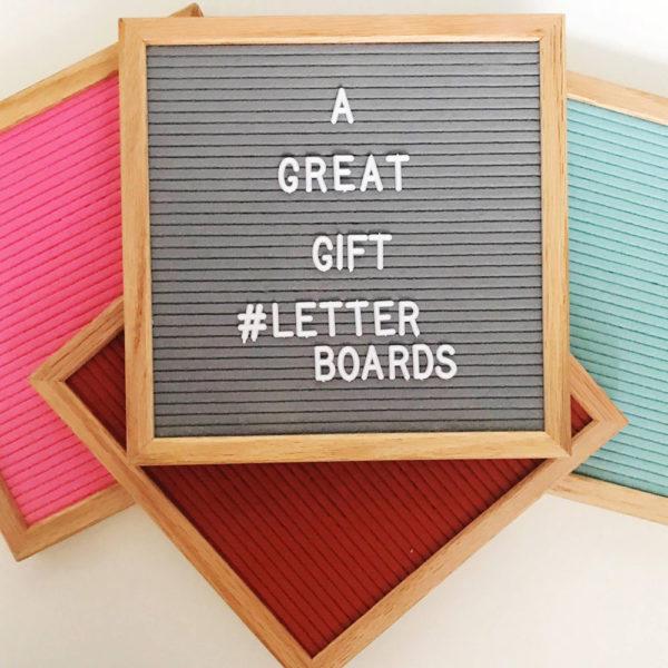 letterboard quadrate