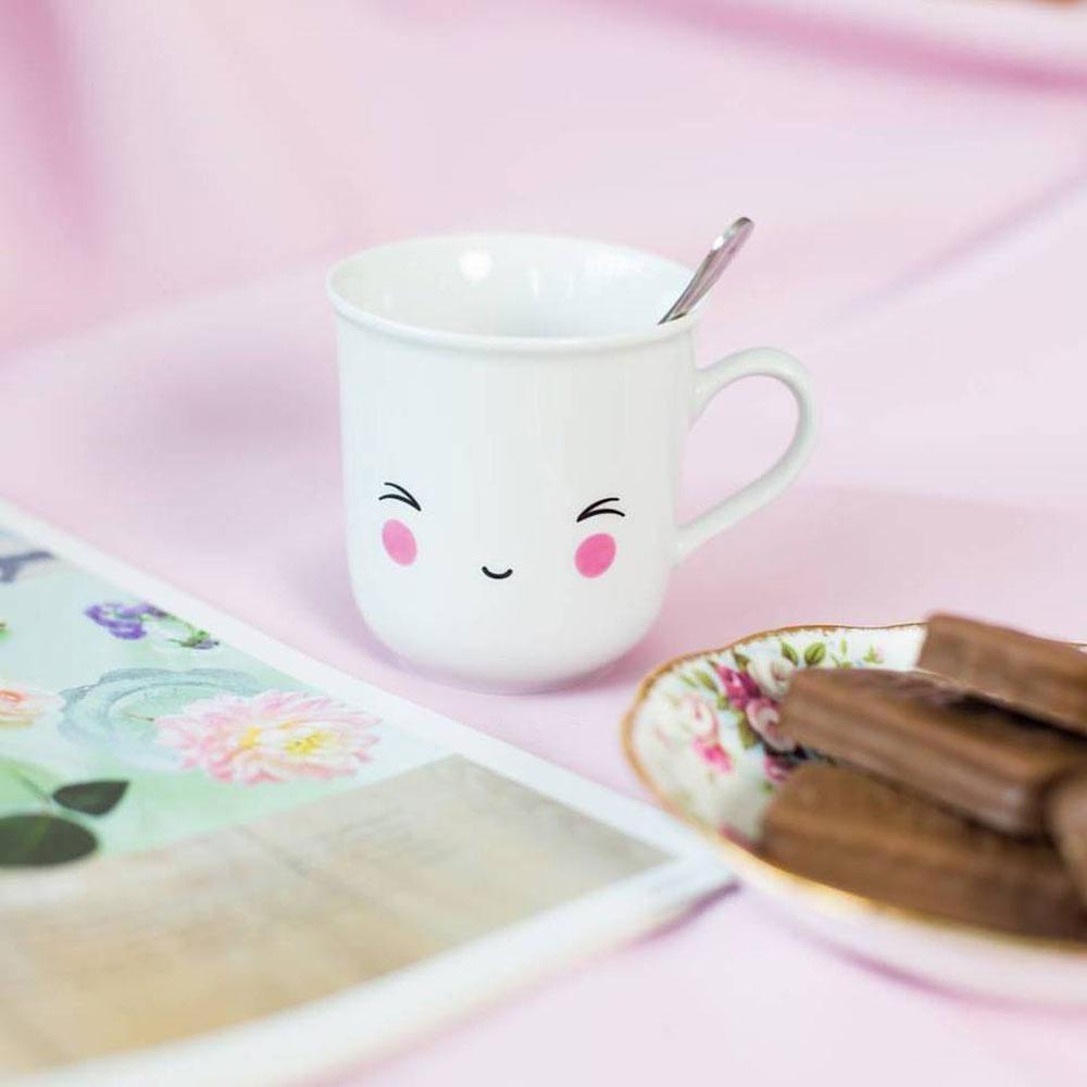 tazza sorriso colazione