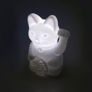 waving cat light