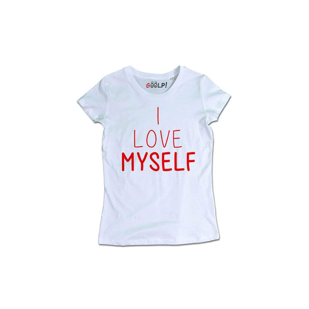 i love myself t-shirt goolp