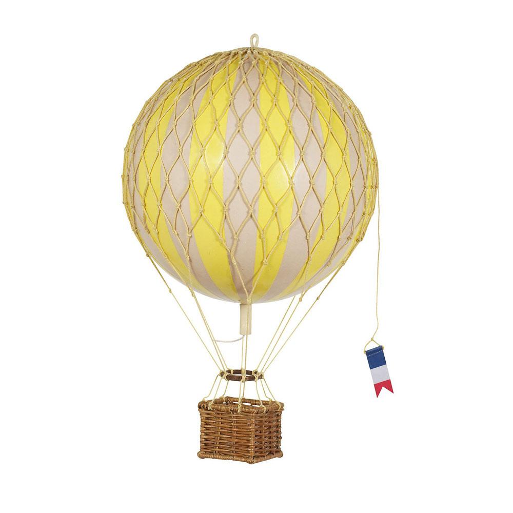 maxi mongolfiera decorativa gialla ballon soffitto goolp