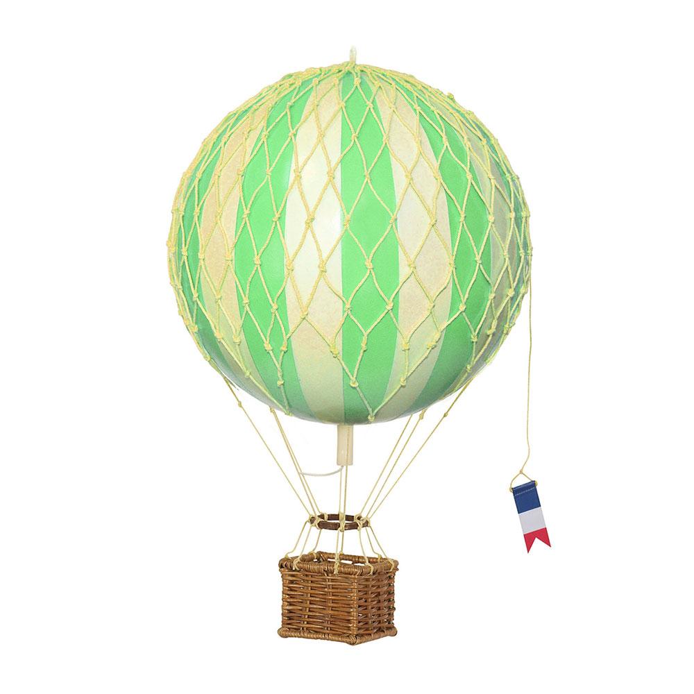 maxi mongolfiera verde soffitto decorativa goolp authentic models