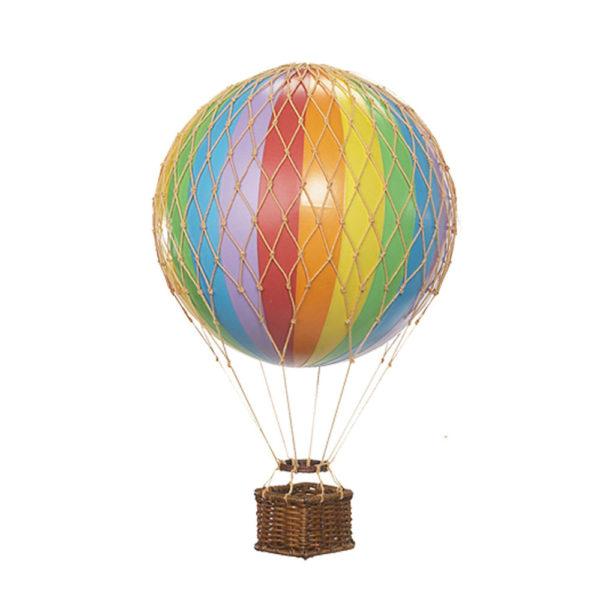 mongolfiera arcobaleno decorativa goolp authentic models