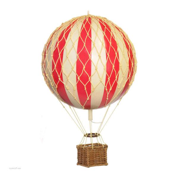 mini mongolfiera goolp rossa soffitto decorazione