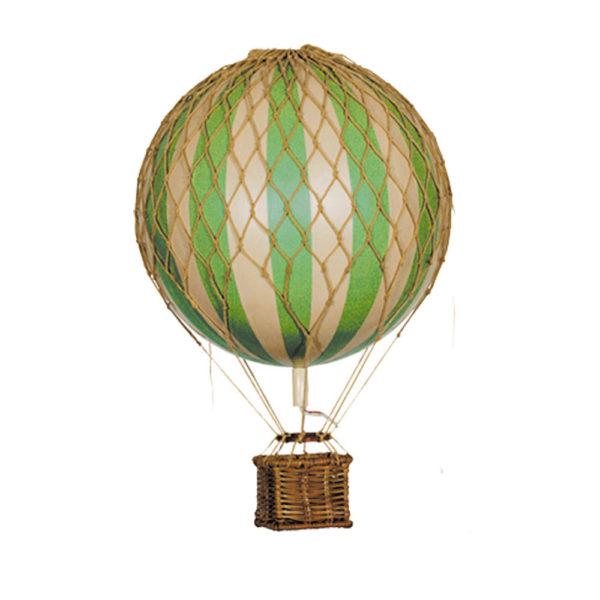 mini mongolfiera verde authentic models goolp