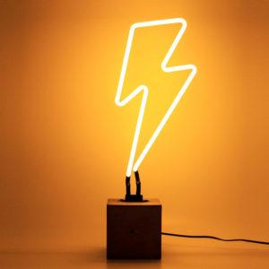 lampada neon fulmine locomocean