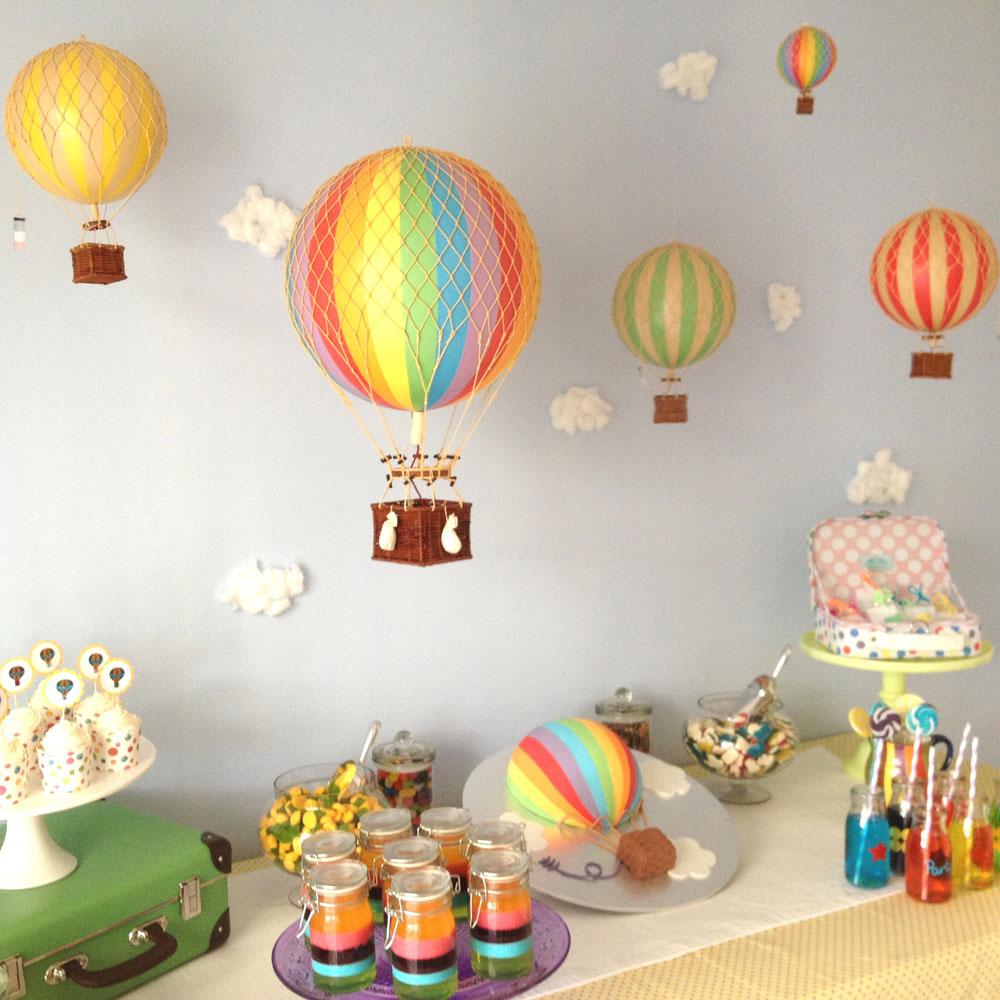 mongolfiera arcobaleno rainbow authentic models goolp