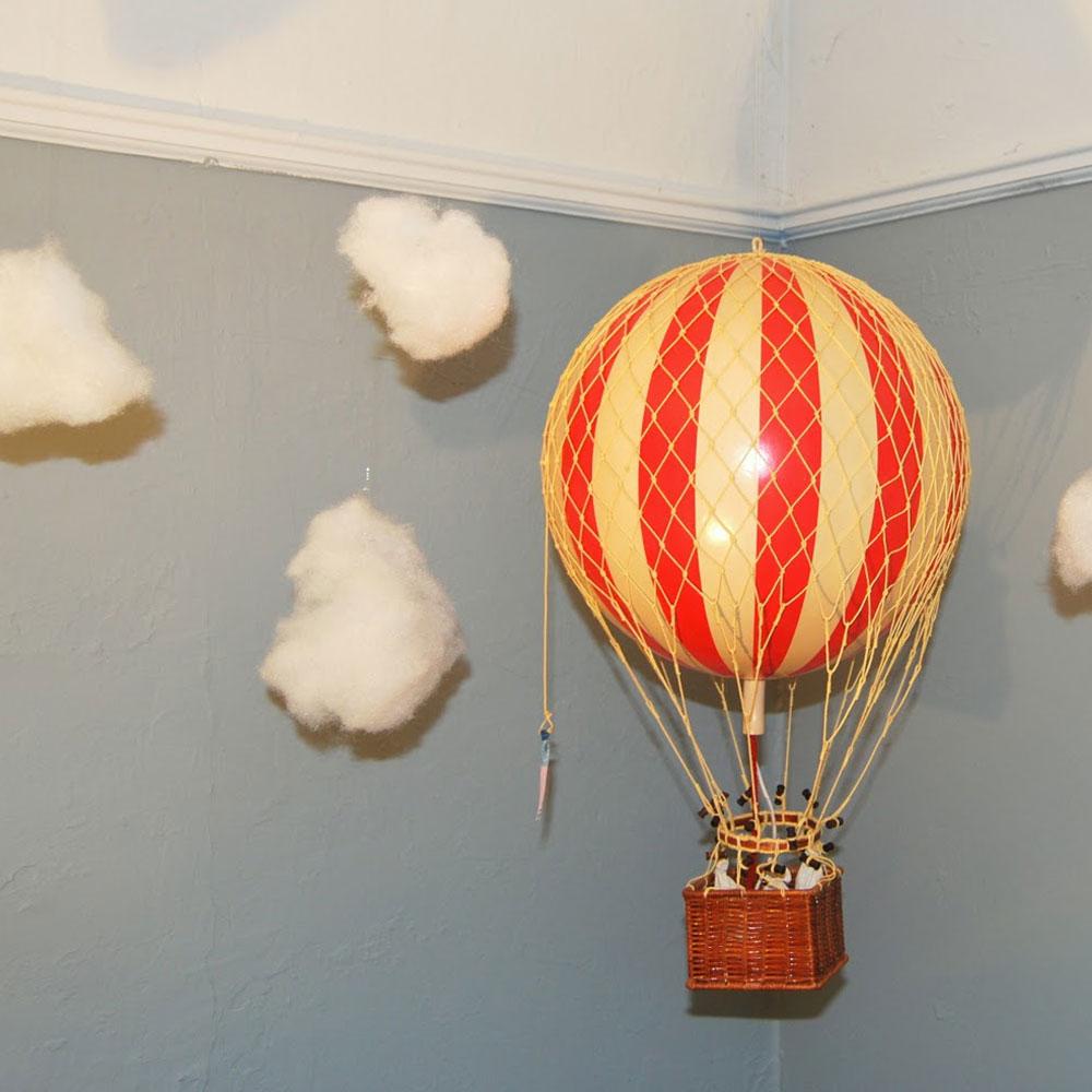 mongolfiera rossa authentic models goolp