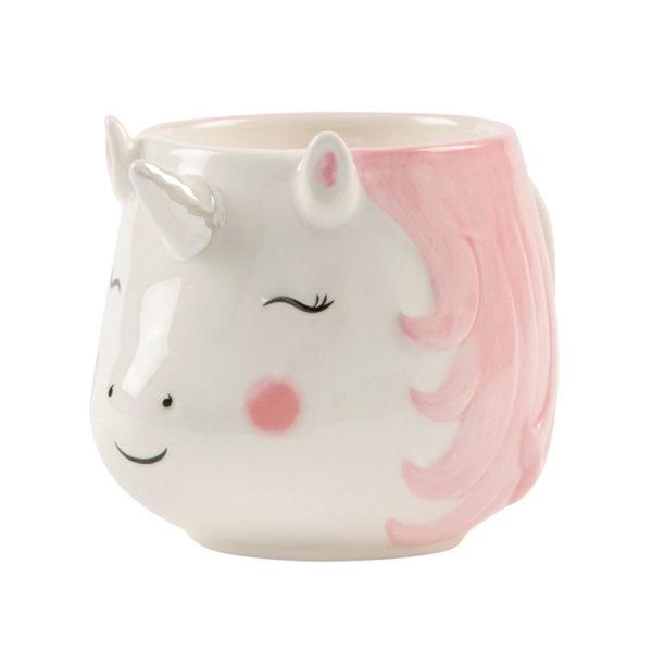 tazza unicorno arcobaleno rosa