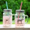 bicchieri barattolo animali zoo