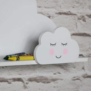 mensola nuvole sorridente
