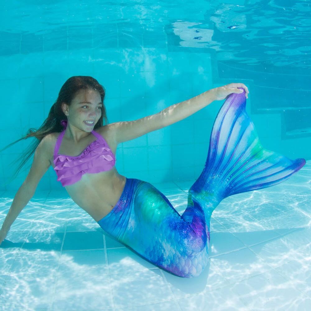 Da Bambina Vestito Sirena Per Vestito byYf76vg