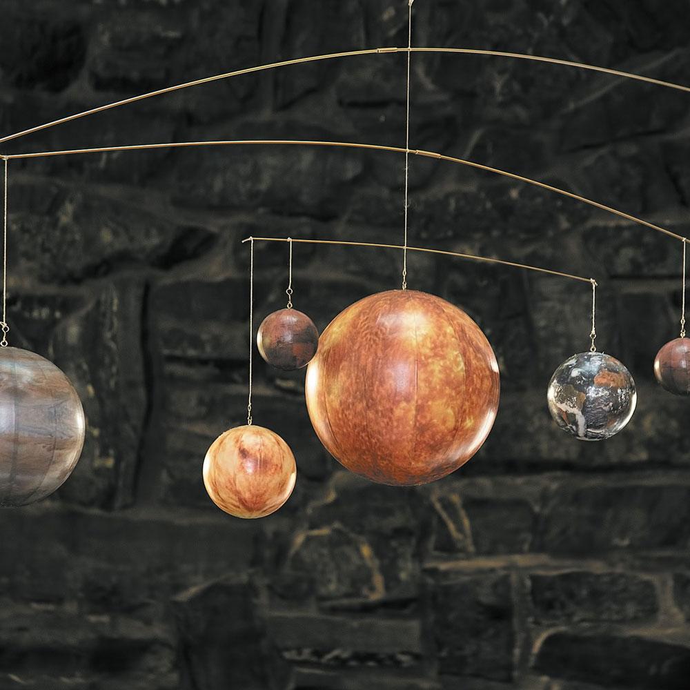 sistema solare giostrina da soffitto