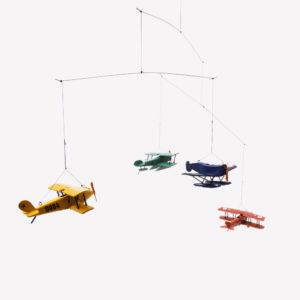Giostrina con Aeroplani Colorati