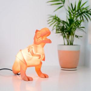 lampada-tirannosauro-t-rex-arancione-origami-goolp